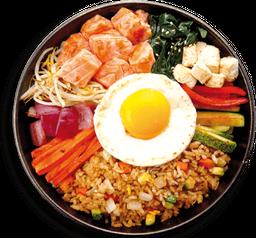 Salmón Teriyaki Sushi Bowl