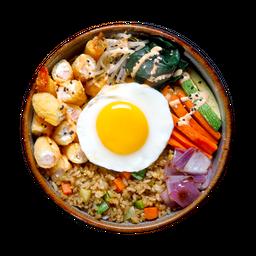 Kanikama Sushi Bowl