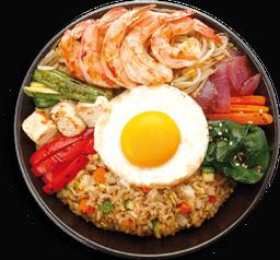 Camarón Teriyaki Sushi Bowl