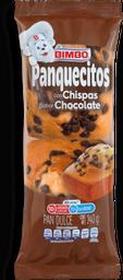Panquecitos Bimbo Chispas de Chocolate 140 g