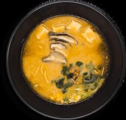 Ramen Miso Vegana 1/2 porción