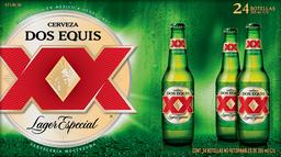 Cerveza Clara 24 Botellas De 355 mL Xx Lager