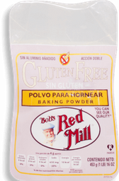 Polvo Para Hornear Bob's Red Mill Sin Glúten 453 g