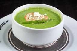 Sopa de Espárragos (Asparagi e formaggio)