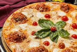 Pizza de Albóndigas