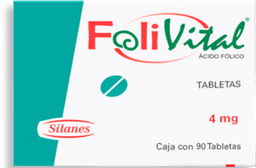 FoliVital 90 Tabletas (4 mg)