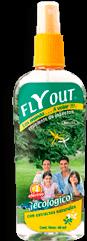 Repelente de Insecctos Fly Out Ecológico Spray 130 mL