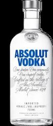 Vodka Absolut Blanco 750 mL