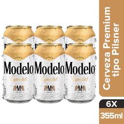 Cerveza Modelo Especial Six Pack