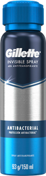 Antitranspirante Spray Gillette Antibacterial 150 Ml