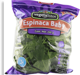 Vegeta Listos Espinaca Baby Bolsa
