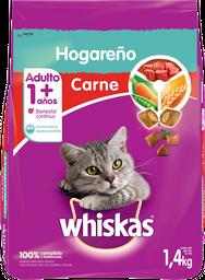 Alimento Para Gato Whiskas Adulto Hogareño Carne 1.4 Kg