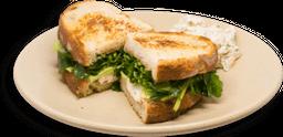 Sándwich de Queso de Cabra