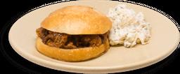 BBQ Texas Brisket Sandwich