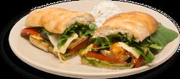 Sándwich de Verduras Rostizadas