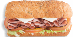 Sándwich de Jamón de Cerdo Sub 15 cm