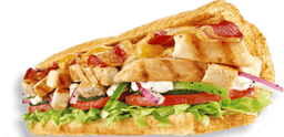 Chicken Bacon Ranch Sub 15 cm