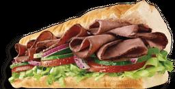 Sándwich Roast Beef Sub 15 cm
