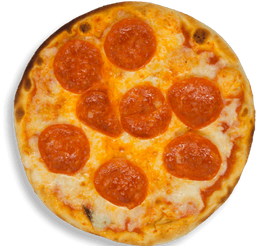Pizza Mediana de Pepperoni