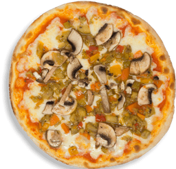 Pizza Mediana Vegetariana