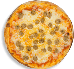 Pizza Mediana Salchicha Italiana