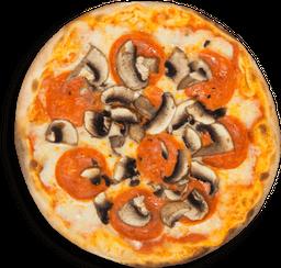 Pizza Grande Pepperoni E Funghi
