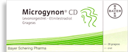 Microgynon CD Caja 28 Tab.