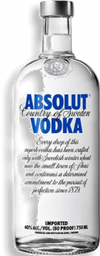 Vodka Absolut Azul 1 L