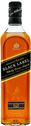 3x2 Whisky Johnnie Walker Black Label 750 mL