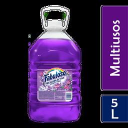 Limpiador Fabuloso Antibacterial Lavanda Multiusos 5L