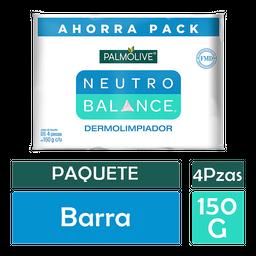 Jabon de Tocador Neutro Balance Dermolimpiador 150 g x 4 U