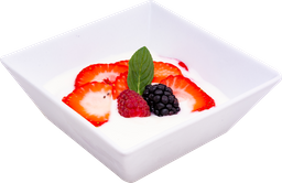 Yogurt Natural con Frutos Rojos