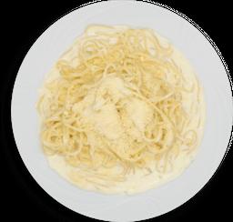 Pasta en salsa 3 quesos o chipotle