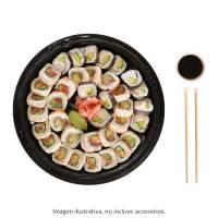 Charola de sushi 3 rollos a escoger: 1 clásico 1