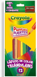 Colores Crayola Triangulares 12 Pz