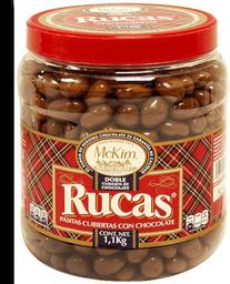 Pasitas McKim Rucas cubiertas de chocolate 1.1 kg