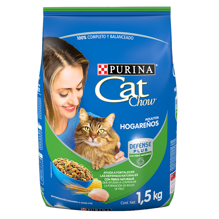 Cat Chow Alimento Para Gato Adultos Hogareños