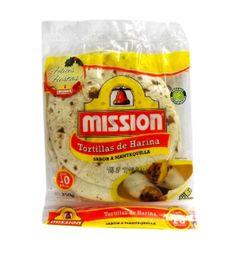Tortillas Mission Harina Con Mantequilla 10 U