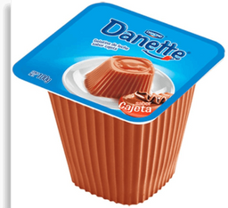 Gelatina De Leche Danette de Cajeta 100 g