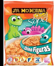 La Moderna Sopa Instantánea Kids Dino Figuras