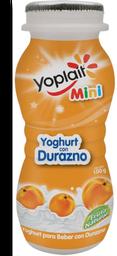 Yoghurt Yoplait Mini Bebible Con Durazno 100 g