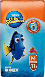 Calzón Desechable Huggies Little Swimmers Mediano 11 U