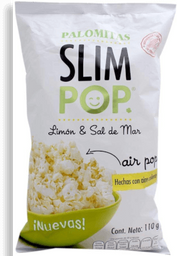 Palomitas Slim Pop Limón Sal de Mar 110 g