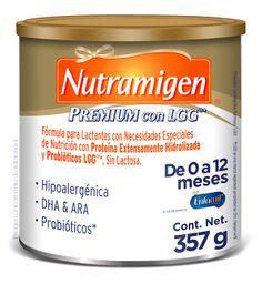 Fórmula para lactantes Nutramigen Premium LGG 0 a 12 meses 357g