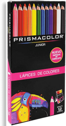 Colores Prismacolor Junior Punta Gruesa 12 U