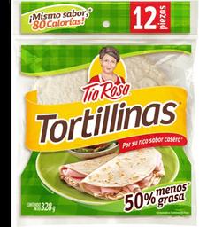 Tortillas de Harina Tortillinas 50% Menos Grasa 282 g
