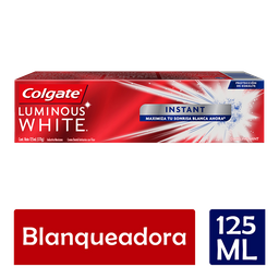 Pasta de Dental Colgate Luminous White Instant 125ML