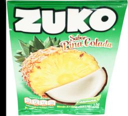 Polvo Para Agua Zuko Sabor Piña Coco Sobre 15 g