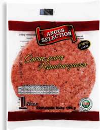 Carne de Res Angus Selection Para Hamburguesa 150 g