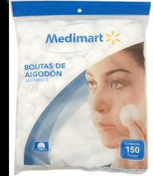 Bolitas de algodón Medi Mart 150 pzas
